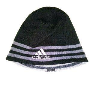 Adidas Hat Grey Winter Beanie Reversible